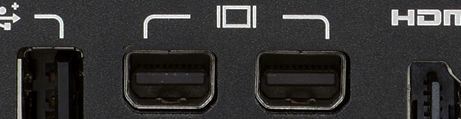 Mini Displayport adapters