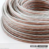 Speaker Cable 2x 0.75 mm2, 10 m